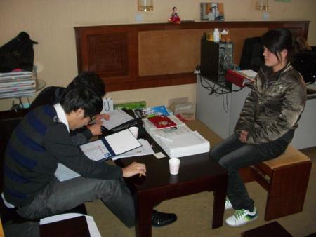 韩国圣公会大学面试现场