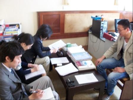 韩国水源大学面试现场 烟台出国留学 烟台办理签证公司
