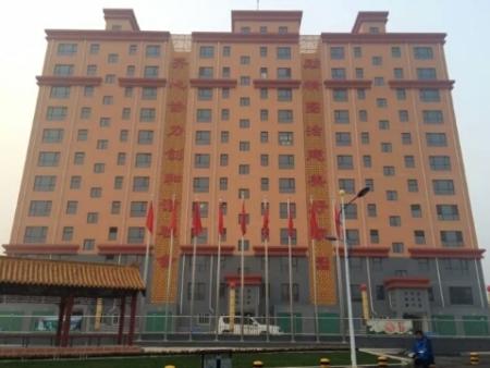 邯郸复兴区东常赦小区6万平方供暖1300kw5台