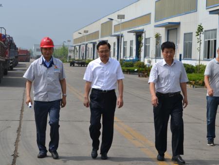 刘县长莅临公司指导工作