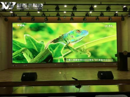 宁夏LED液晶屏厂家,新百丰—祝贺信访局一楼大厅P2.5LED显示屏项目顺利完工