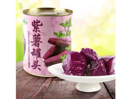 紫薯颗粒罐头