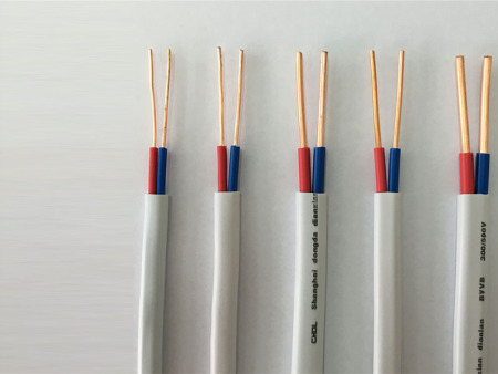 芯硬护套线纯铜芯电线
