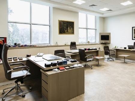 办公领域地板案例