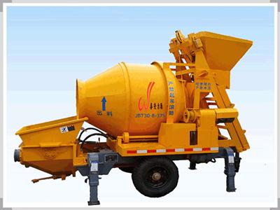 使用混凝土攪拌拖泵過程中必須注意的三個關鍵點