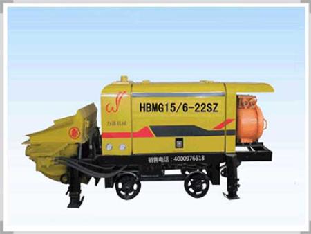 细石混凝土泵产生堵管状况后要及时规范处理