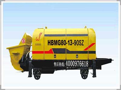 矿用混凝土输送泵应用广泛,深受人们的青睐