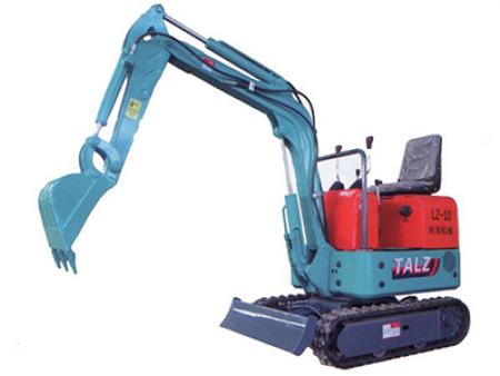 如何解决小液压挖掘机的系统出现故障?
