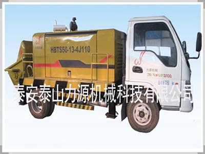 影響礦用混凝土泵的工作效率的原因分析