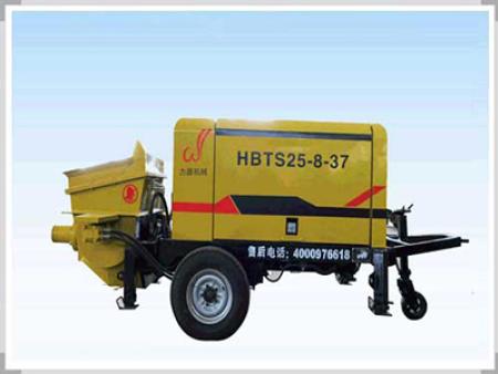 使用混凝土輸送泵後,應清洗主缸濾芯