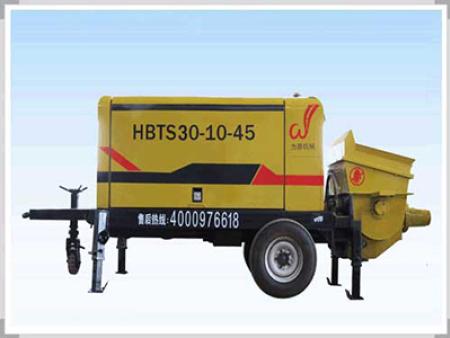 細石混凝土輸送泵運行要求介紹