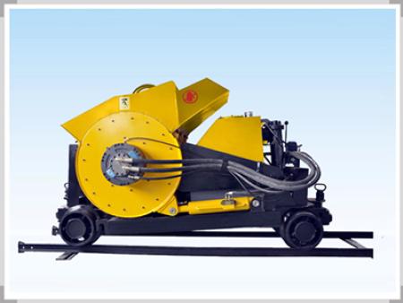 略顯幹硬的混凝土也可以用混凝土輸送泵