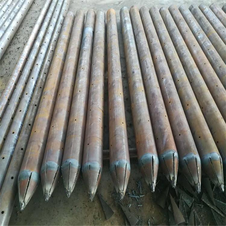鋼花管注漿流程