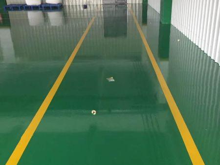 水性聚氨酯地坪漆施工后效果图