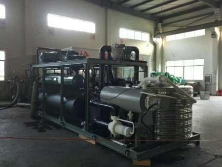超低温复叠式冷冻机组-120℃