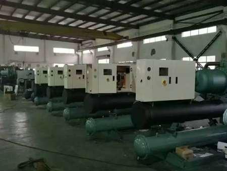 水冷螺杆工业低温冷冻机-35℃
