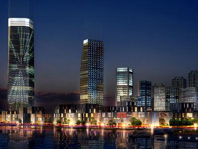 陕西文华建筑景观工程有限公司, 楼宇泛光照明亮化,陕西园林绿化,