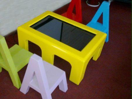 书桌型茶几型互动桌型触摸平博体育