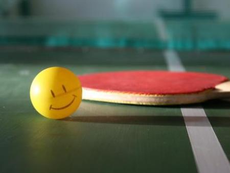【甘肃乒乓球台】发球是乒乓球最重要的技术!