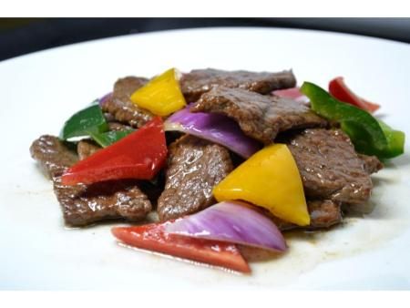蚝油牛肉片
