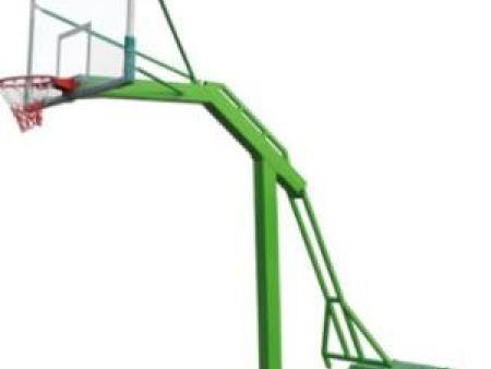 甘肃篮球架厂家提醒你选择篮球架参考地点很关键