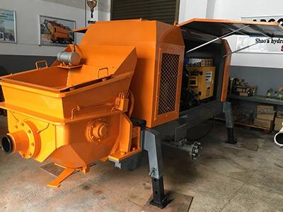 混凝土搅拌拖泵的厂家介绍混凝土浇筑前的设备检查事项