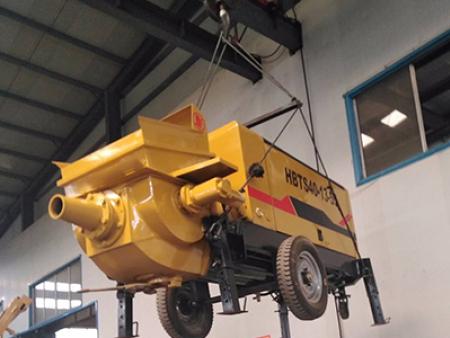 矿用混凝土输送泵蓄能器和清洁装置的介绍