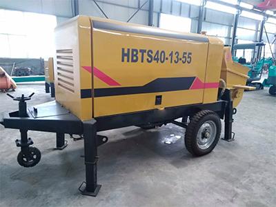 混凝土输送泵发热的原因和处理方法