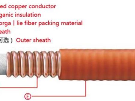 柔性铜护套无机矿物质绝缘防火万博手机客户端app