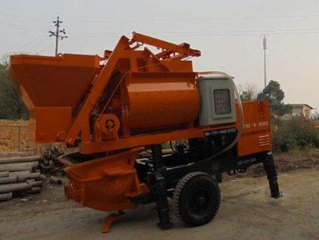 使用细石混凝土输送泵后工地的施工效率得到了提升