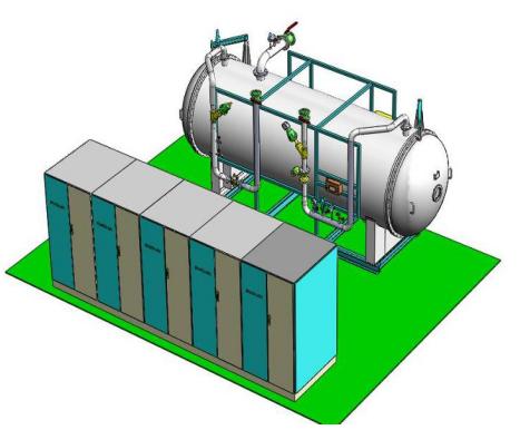 臭氧发生器结构图