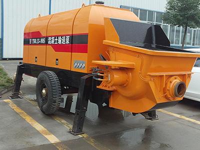 影响矿用混凝土泵的工作效率的原因分析
