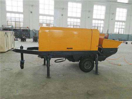 细石混凝土输送泵的使用方法以及堵塞问题解决