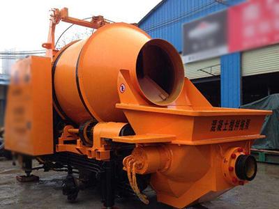 混凝土搅拌拖泵适用于多个施工现场的交替运行