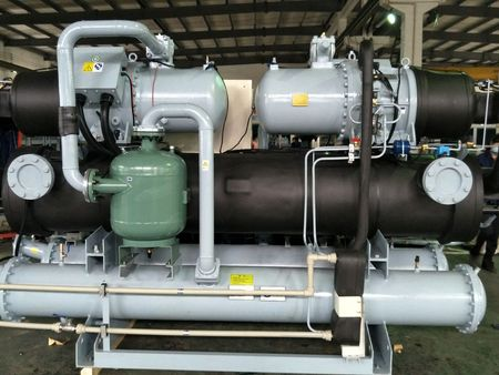 水冷螺杆式低温冷冻机组-25℃