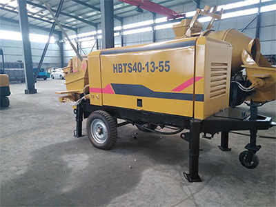 混凝土搅拌拖泵运输和使用的技巧