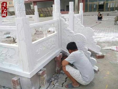石栏杆施工案例