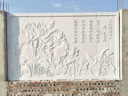 小型浮雕墙施工案例