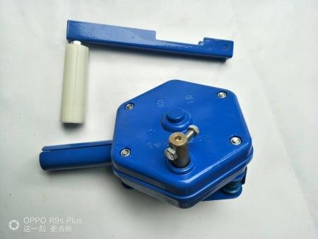 侧卷卷膜器(蓝色)