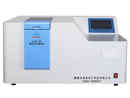 微机全自动量热仪ZDHW-8D