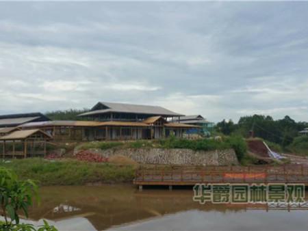 亚博体育软件下载度假山庄景观施工