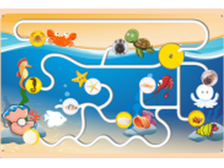 海洋动物认知板
