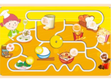 食物认知板