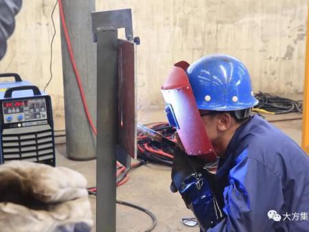 河南大方重型机器有限公司|举办2018年度焊工技能大赛