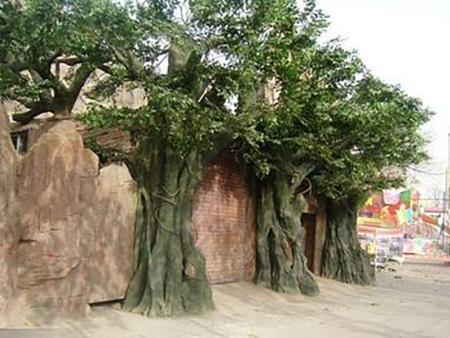 水泥仿真树系列