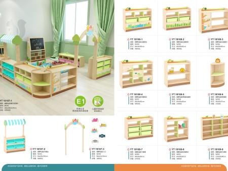 幼儿木制家具系列