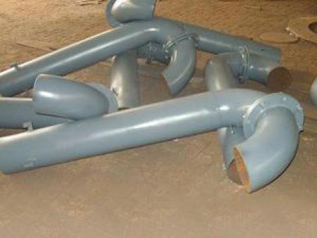 弯管型通气管