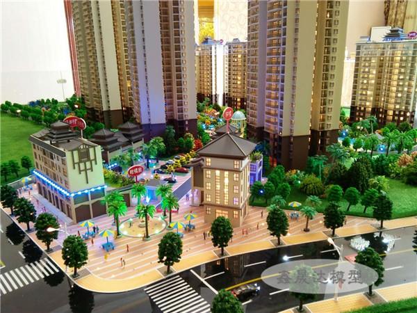 金色港灣-廣西房地產模型