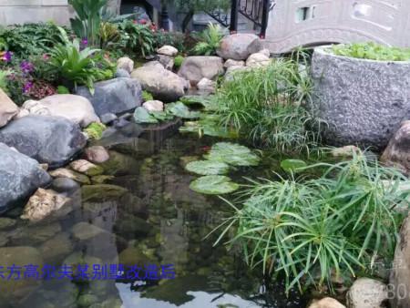 晋江紫湖国际某别墅花园01(现代中式)