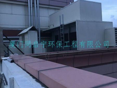 厦门市公安局冷却塔水泵机组噪声治理